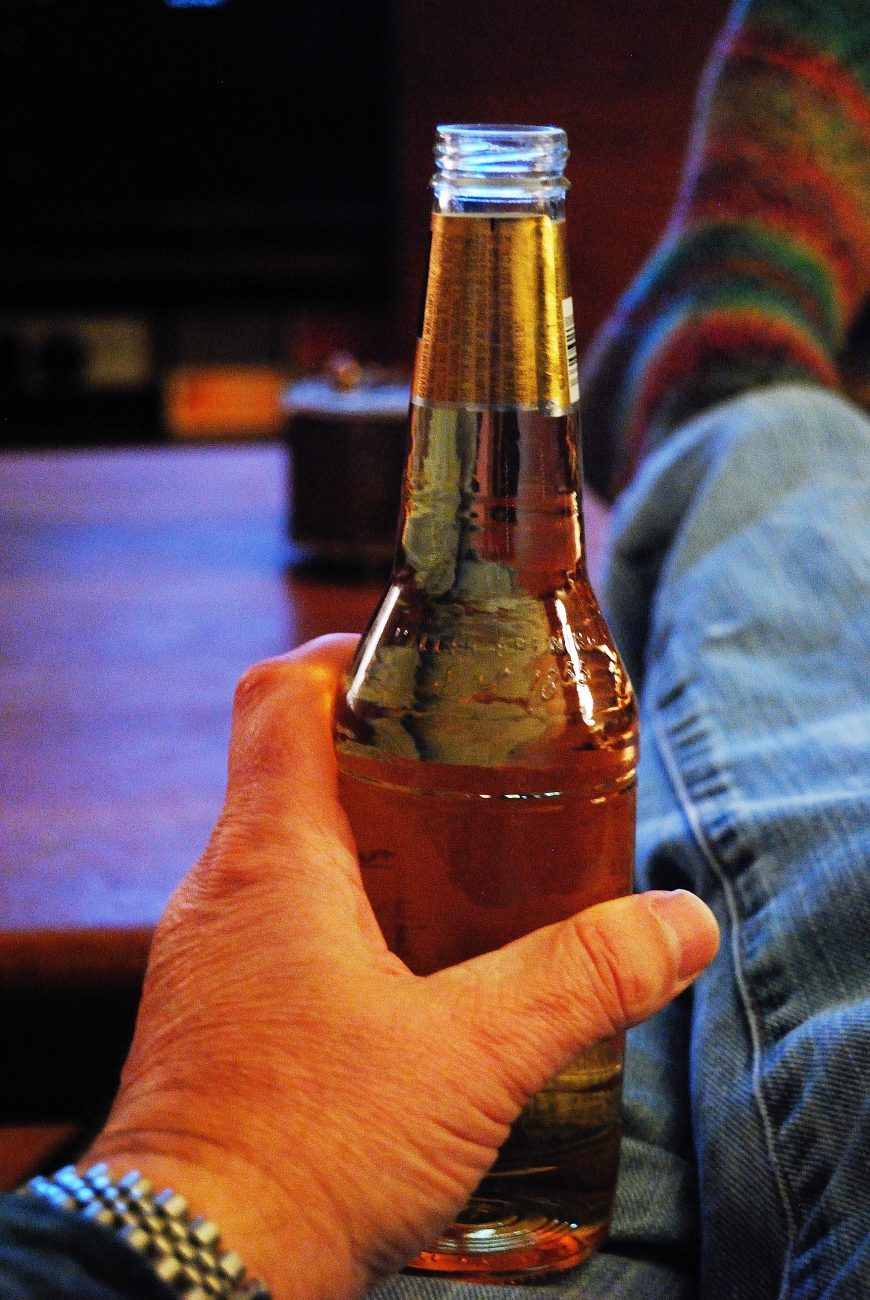 A beer and a movie By Gary Allman