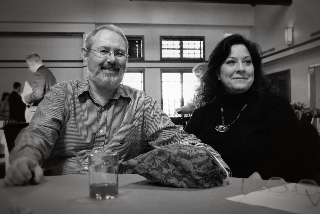 Gary and Ginger at Christ Episcopal Church's Annual Meeting