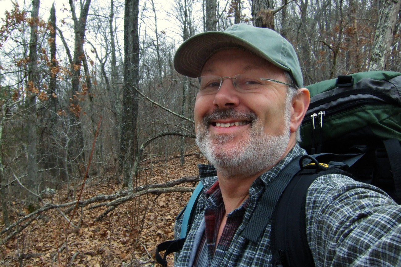 Wedding anniversary backpacking at Devils Backbone Wilderness by Gary Allman