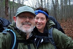 On the Collins Ridge Trail -  Devils Backbone Wilderness