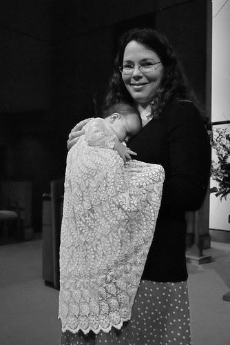 Natalie Anne's Christening
