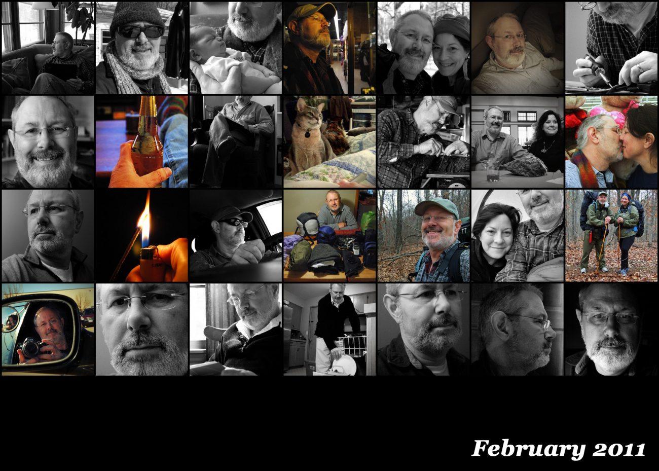 February summary by Gary Allman