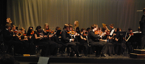 High School Orchestra concert