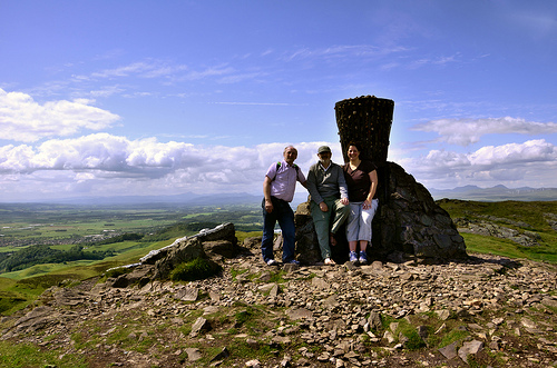 Keith, Gary and Ginger - Dumyat, Stirling, Scotland