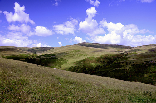 Scottish hillsides - Dumyat, Stirling, Scotland