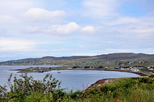 Aultbea from across Loch Ewe