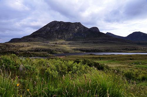 View across Loch Lurgainn, Inverpolly