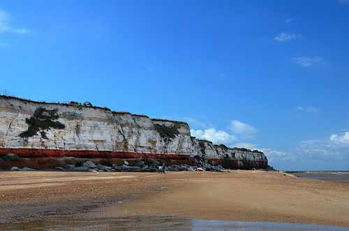 Cliffs at Old Hunstanton