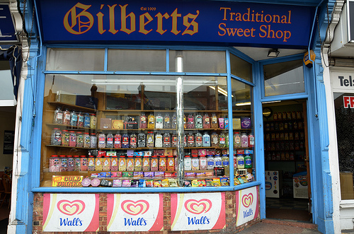 Gilberts Sweet shop, Eastney Portsmouth