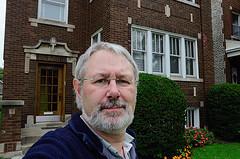 In the front yard - Berwyn, Chicago