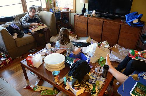 Christmas present carnage
