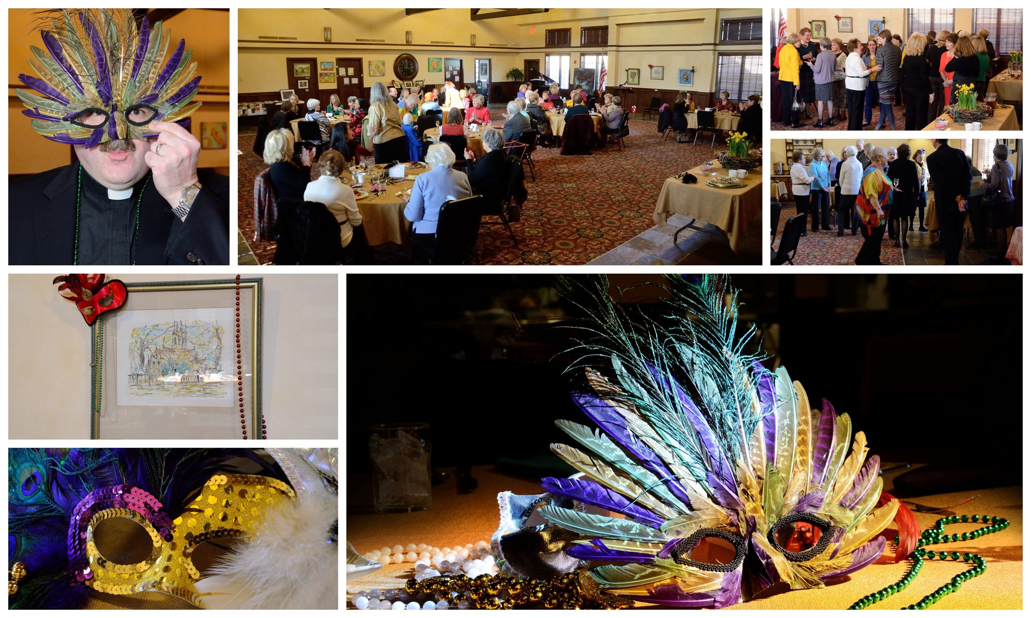 St. Mary's Guild Mardi Gras Lunch