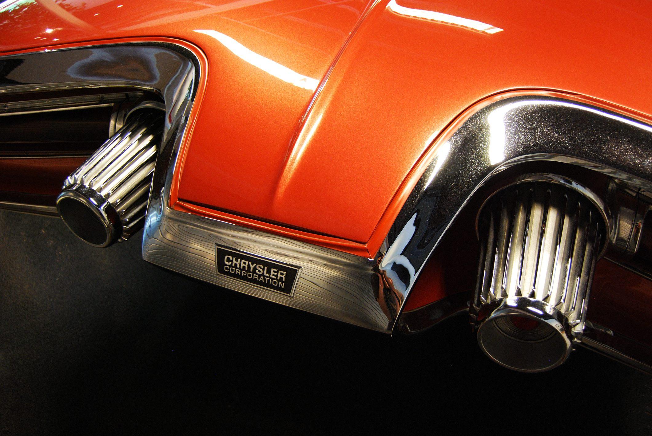 1963 Chrysler gas turbine car - rear light cluster
