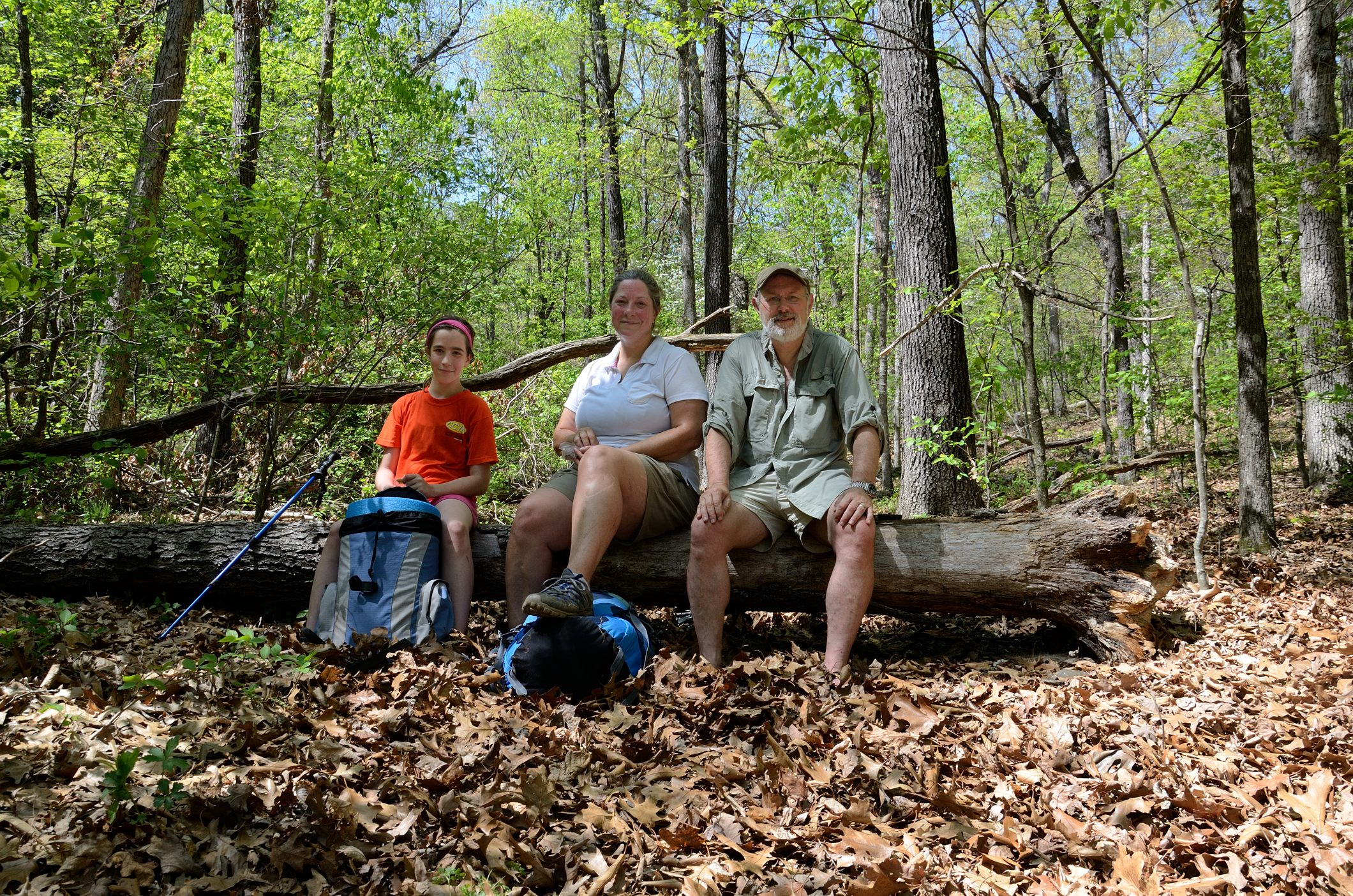 Rest stop - Piney Creek Wilderness