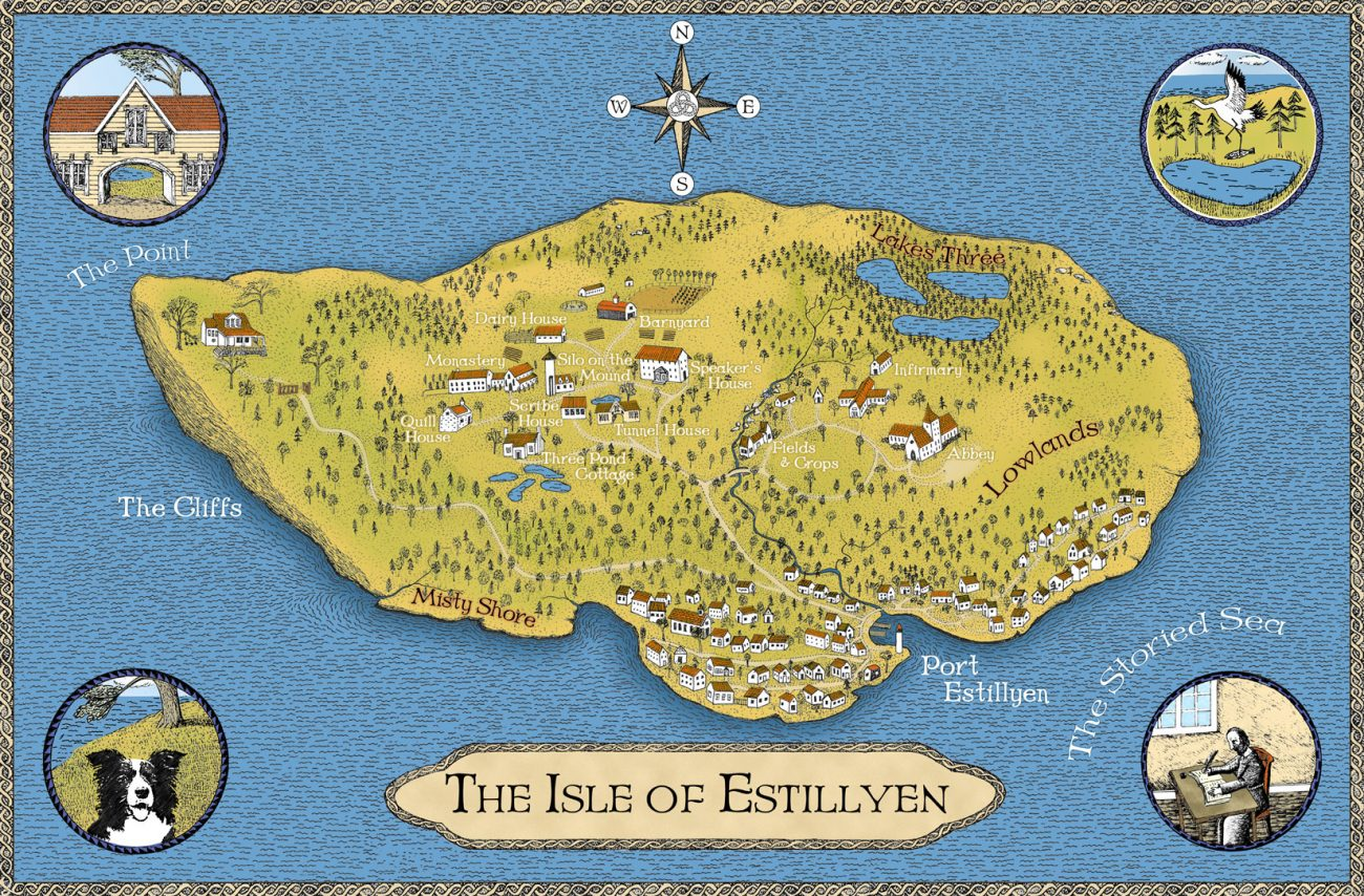 The Final version of the map
