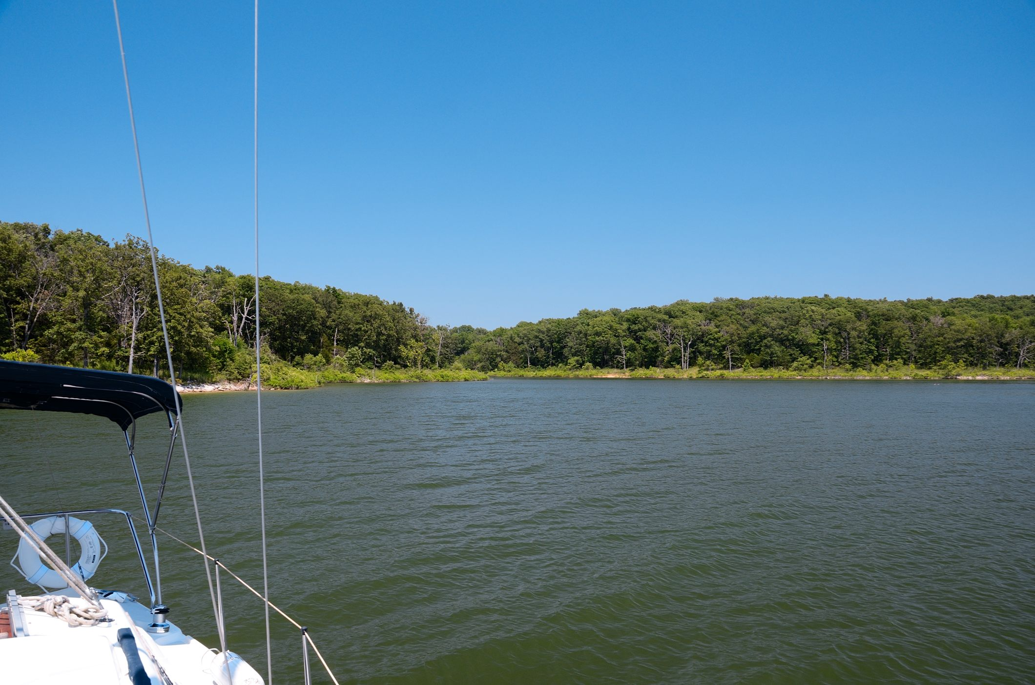 Shoreline of Stockton Lake - www.ozarkswalkabout.com