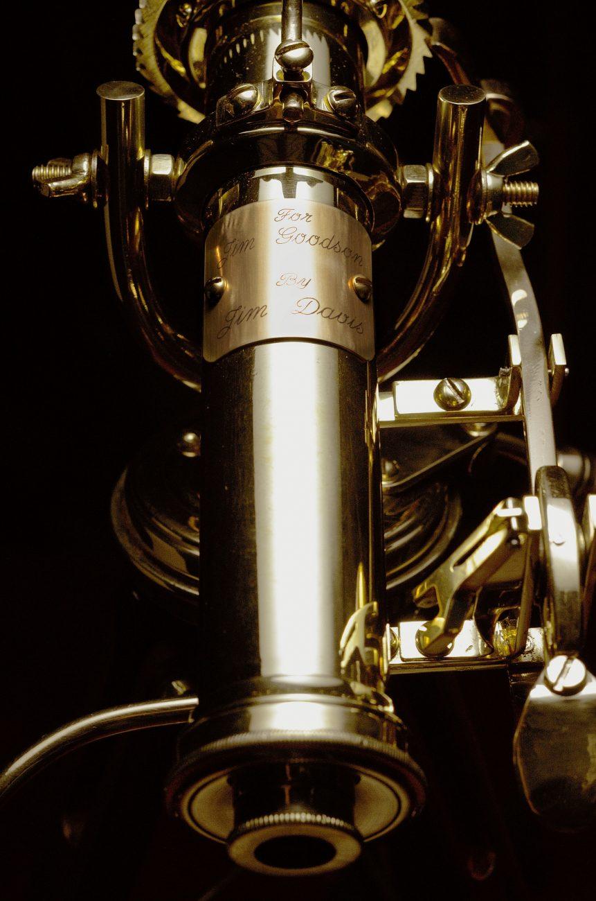 Brass Kaleidoscope detail