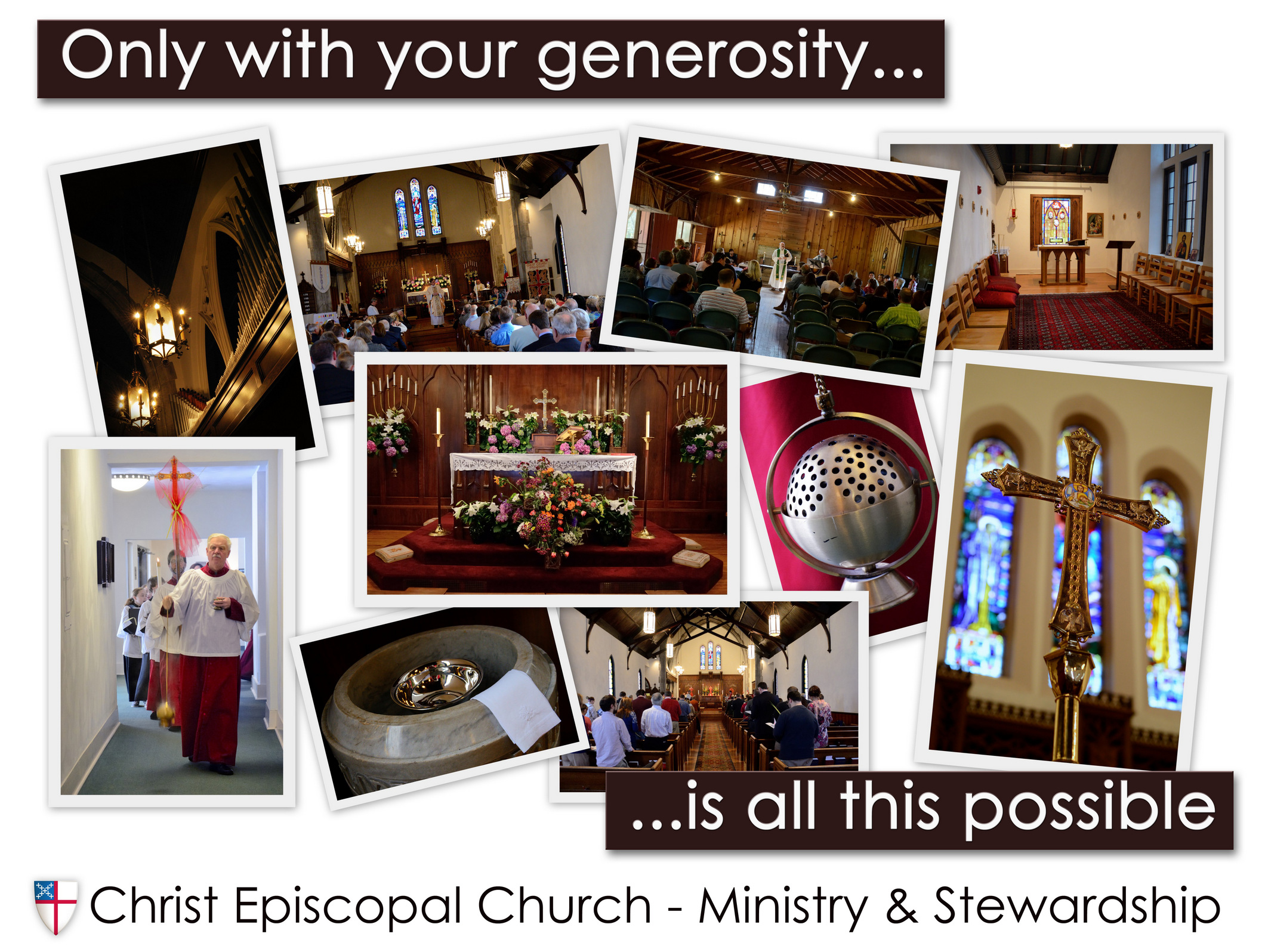 Christ Episcopal Church Springfield, MO - Stewardship Poster