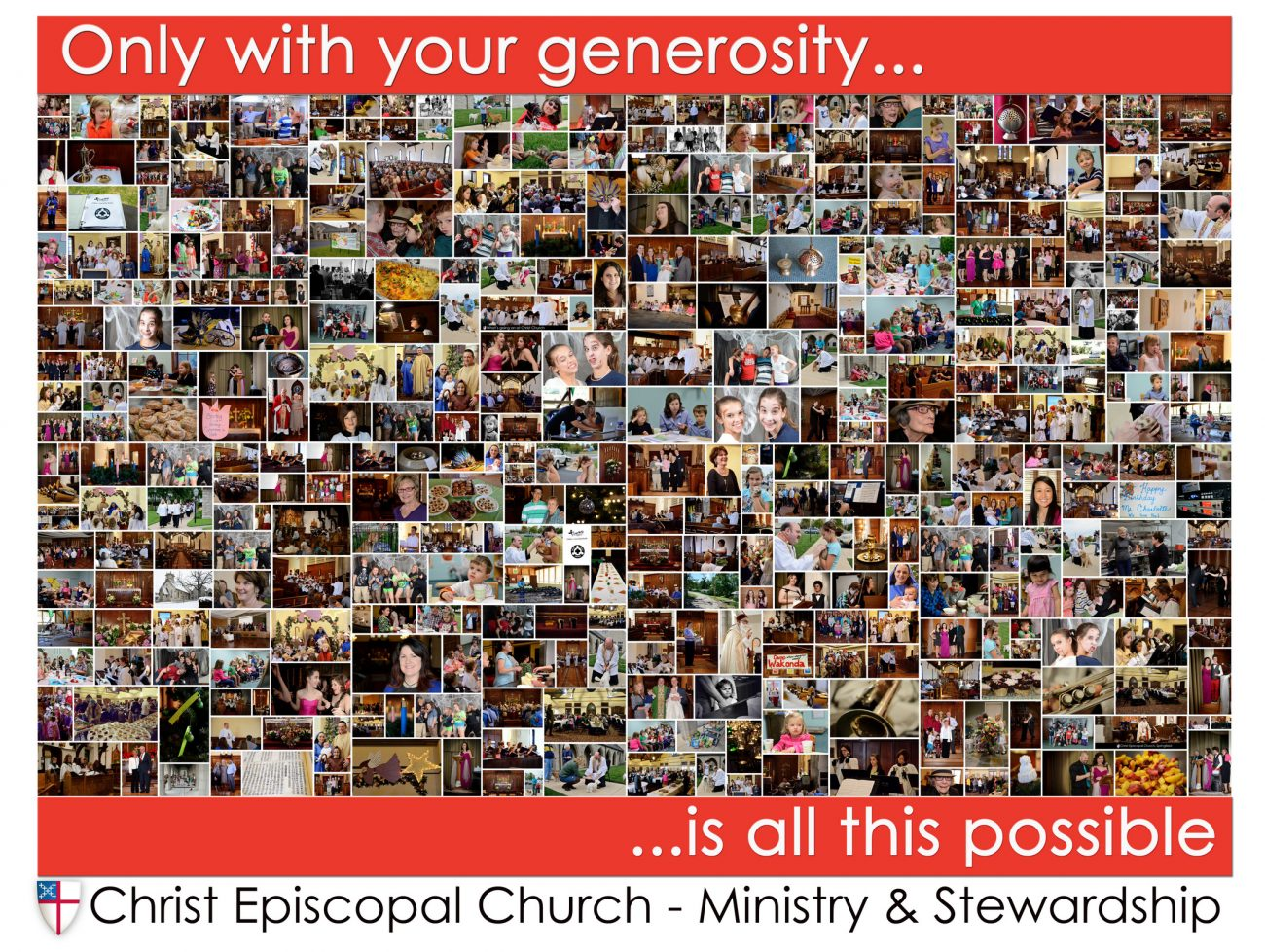 Christ Episcopal Church Springfield, MO - Stewardship Poster