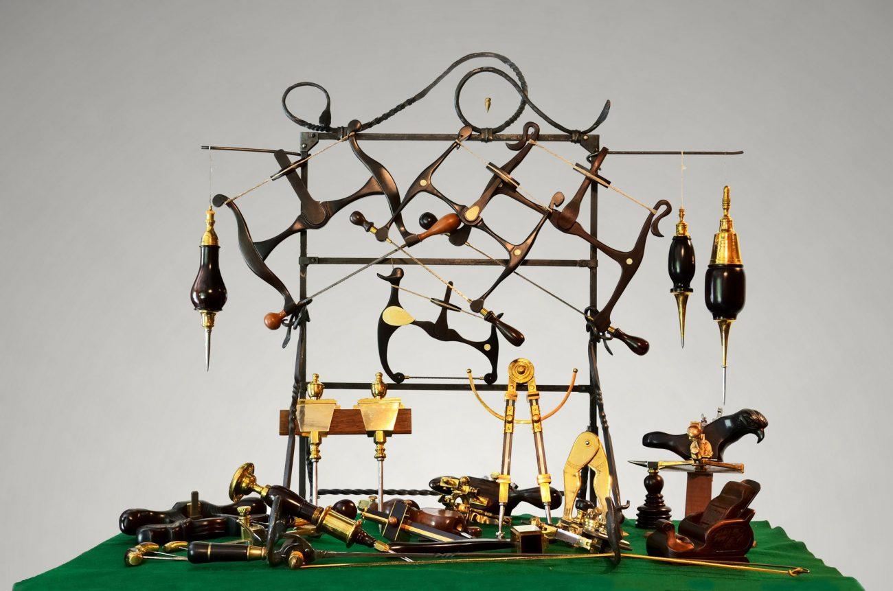 Hand made tools by Jim Davis
