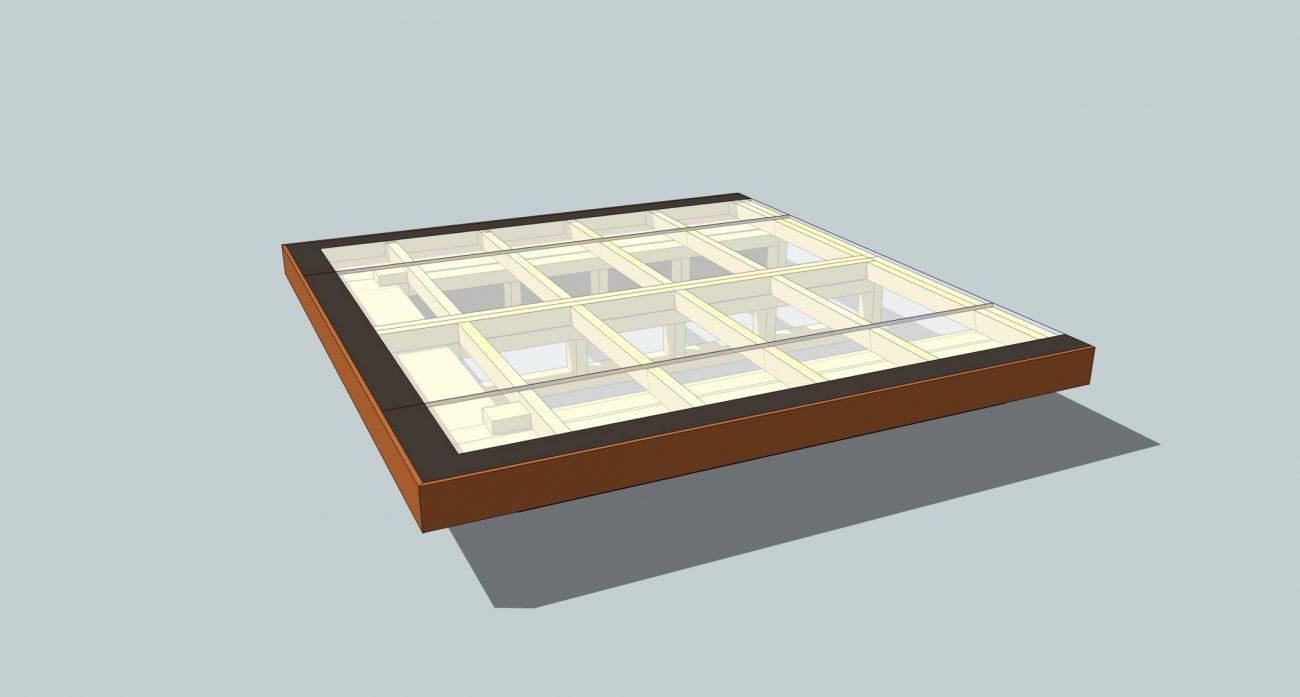 'Floating' Bed Design (Mark II)