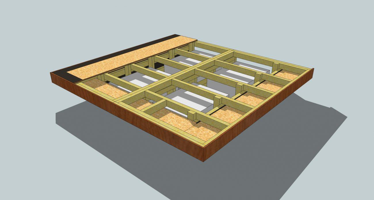 'Floating' Bed Design