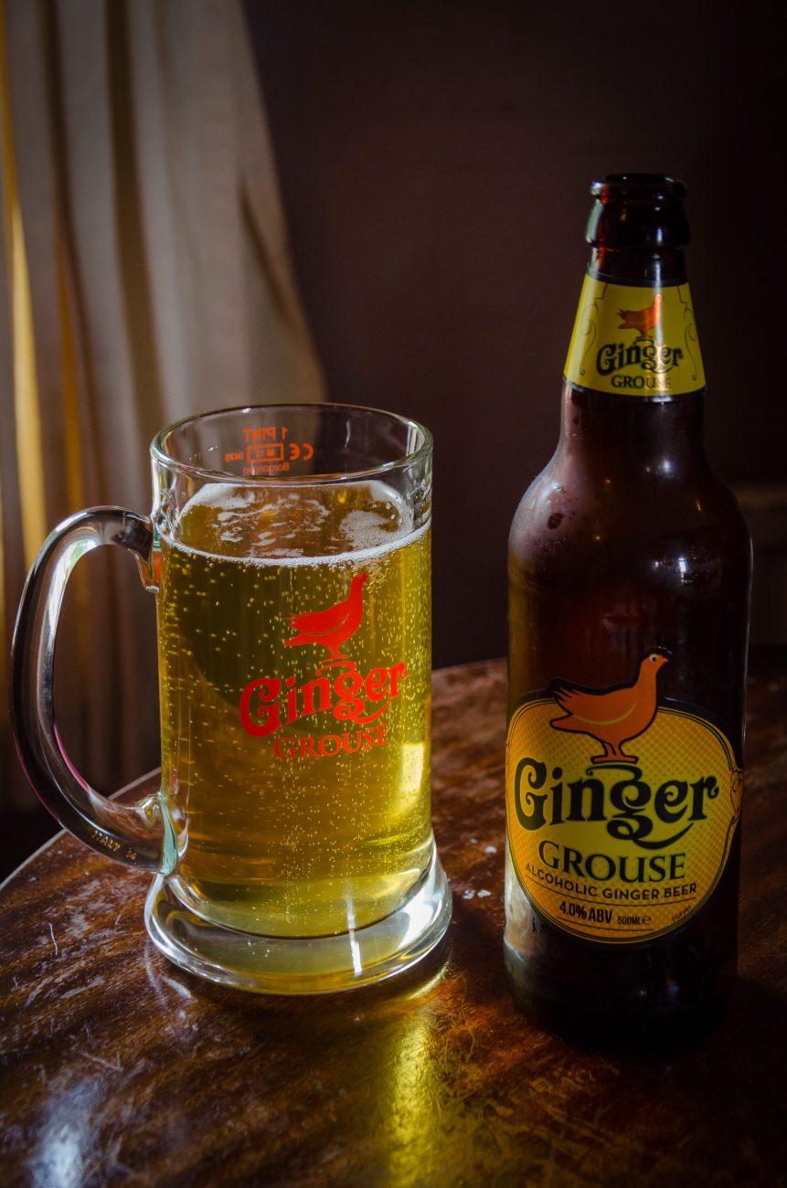 Ginger Grouse