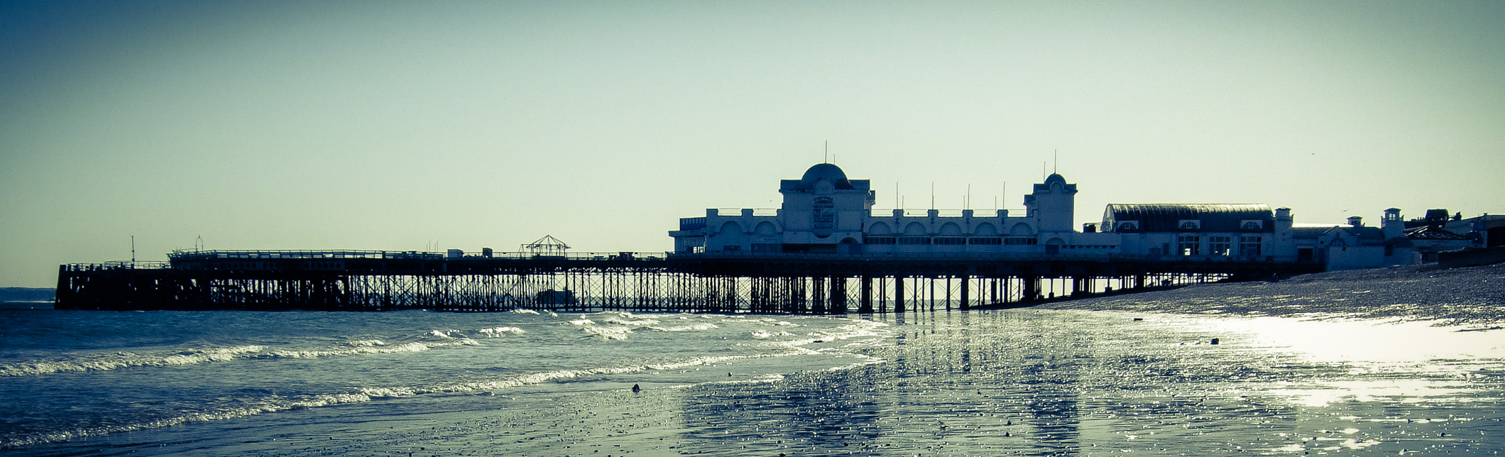 South Parade Pier - Aged and Duotone