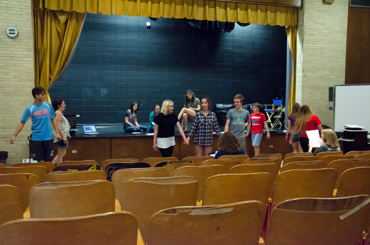 Open Evening - Rehearsal - Clue The Musical