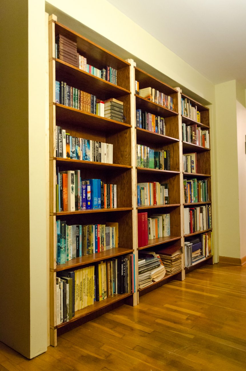 Uh-oh! Looks like we need more bookcases