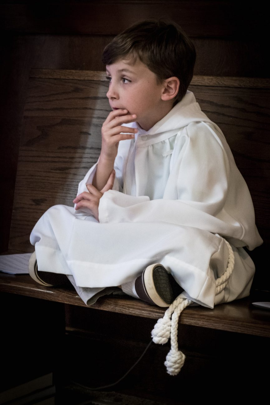 Acolyte, First Cross - Confirmations - April 16, St. James', Springfield