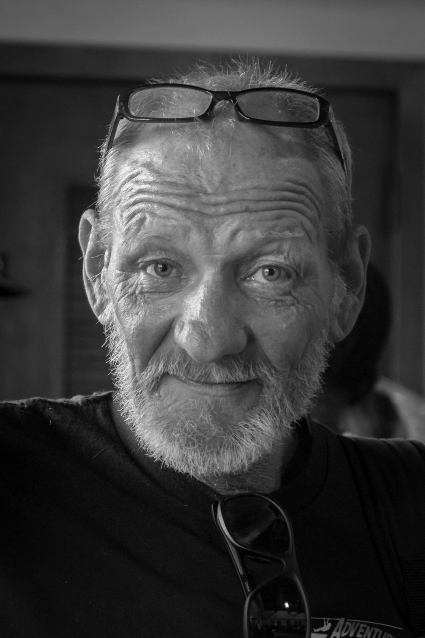 Black and White Photograph of Terry by Gary Allman