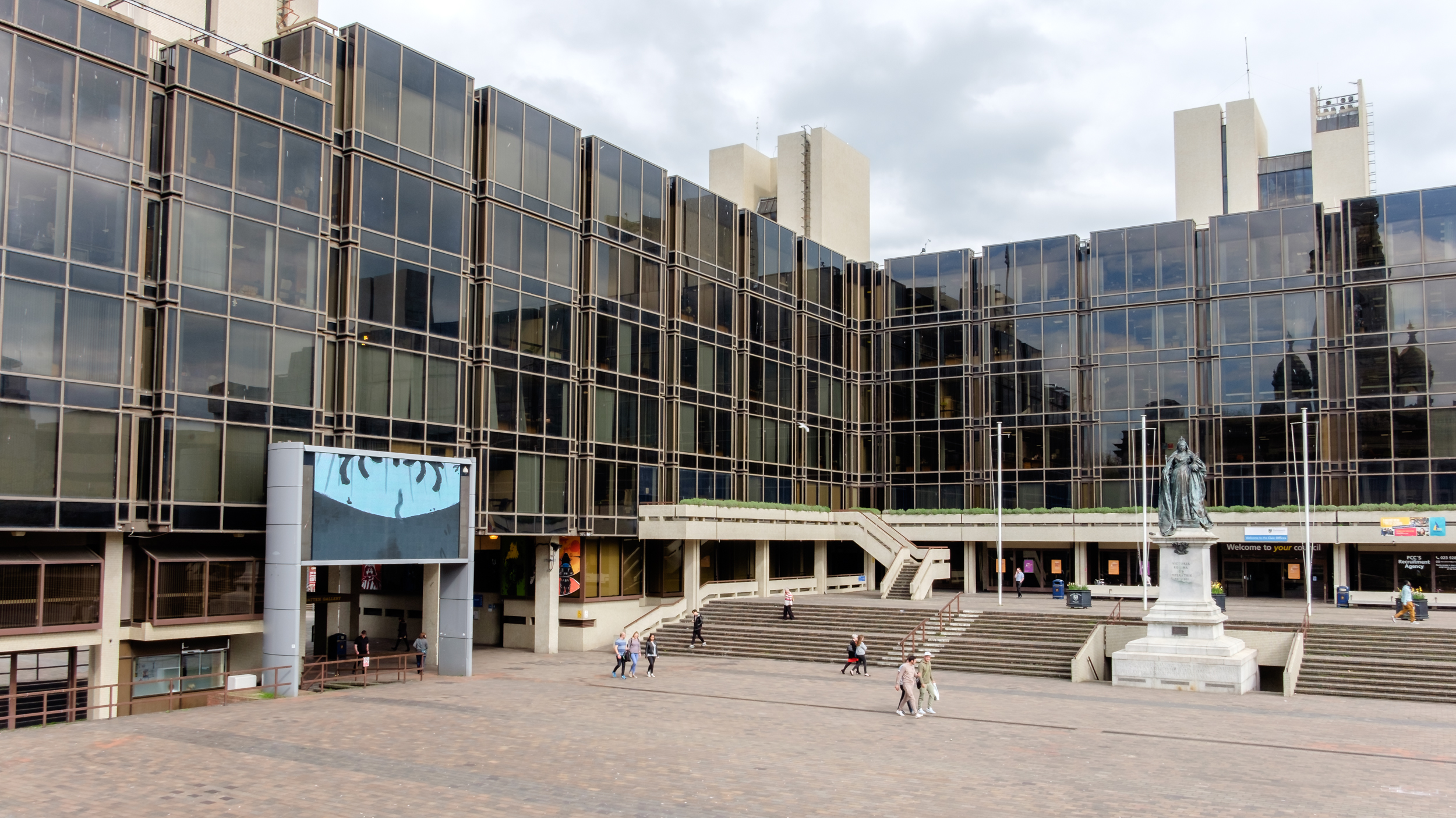 Photograph of Portsmouth Civic Offices, Portsmouth UK