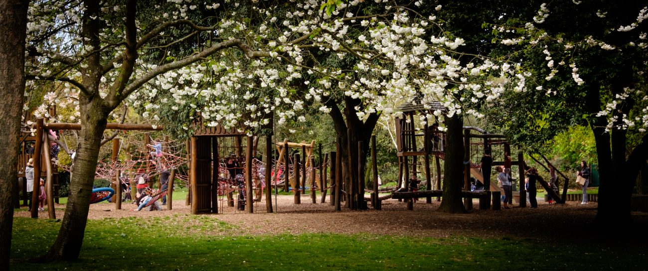 Photograph of the playground at Victoria park, Portsmouth