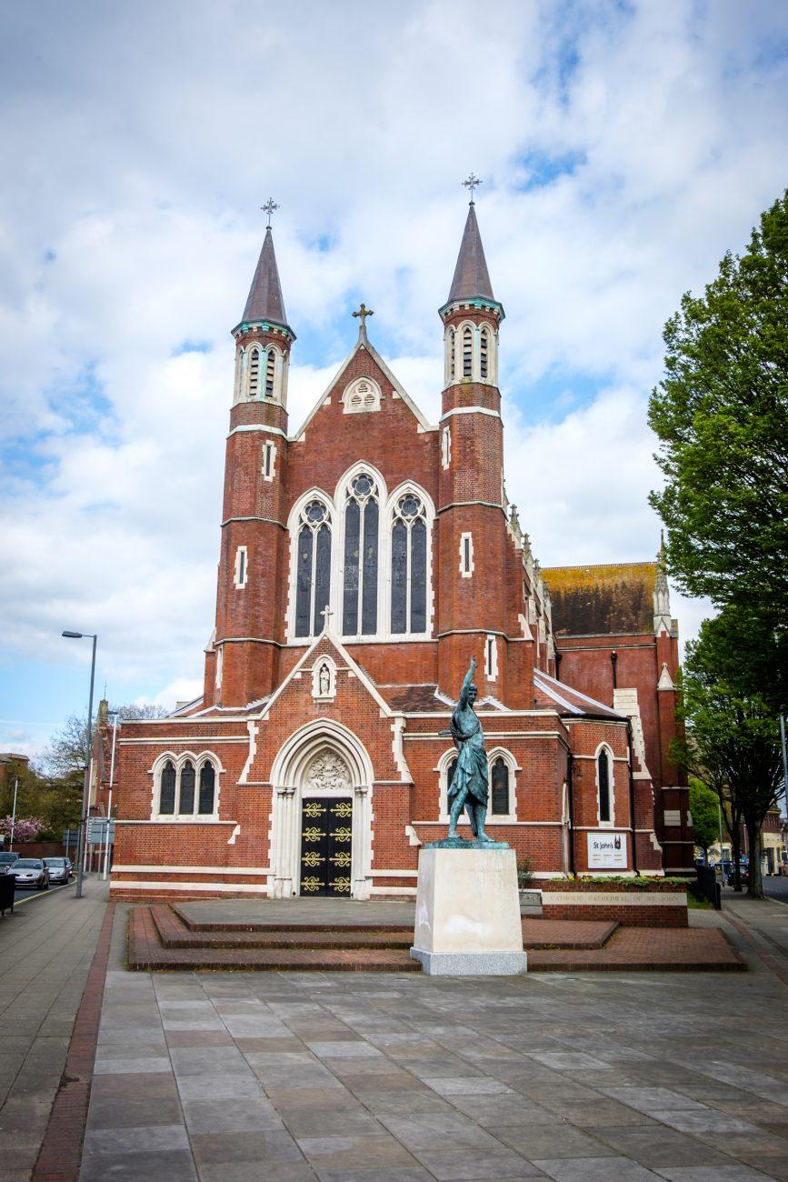 Photograph of St. John's Catholic Cathedral, Portsmouth, UK