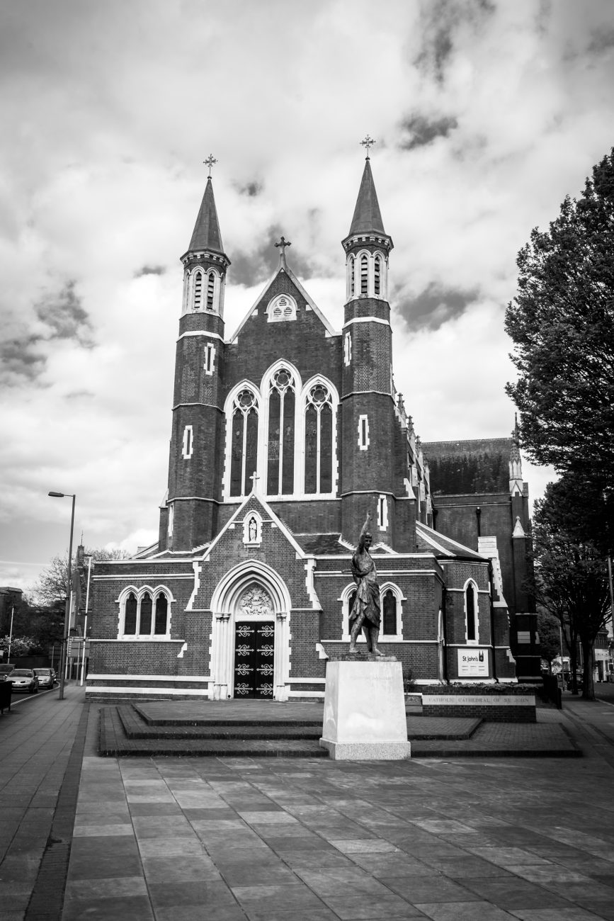 Photograph of St. John's Catholic Cathedral, Portsmouth, UK