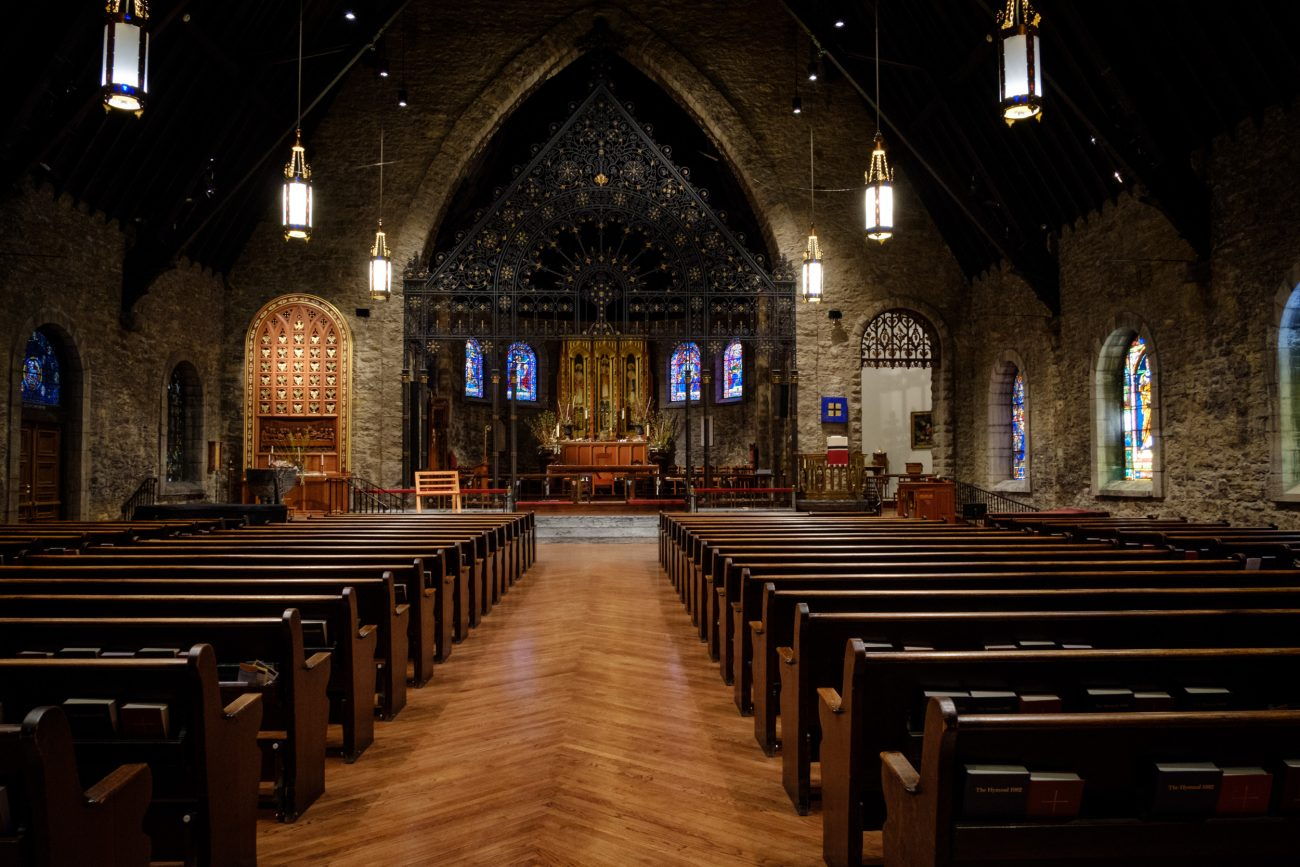 Interior - Grace and Holy Trinity Cathedral, Kansas City Missouri