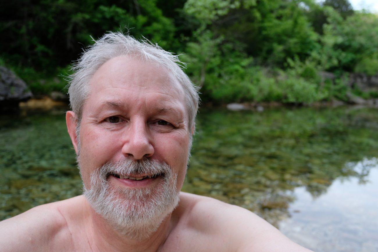 Self portrait of Gary Allman. May 2018.