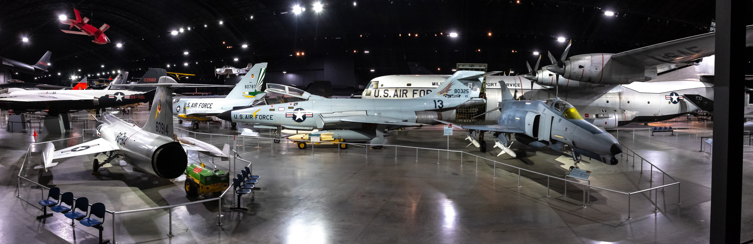 Cold War Exhibits at the National Museum of the US Air Force.