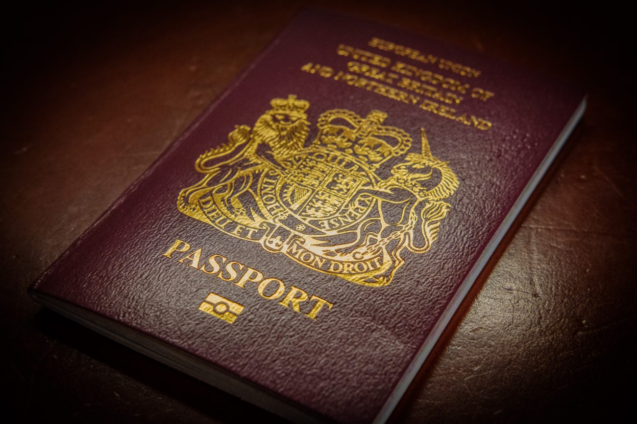 British Passport (2018)